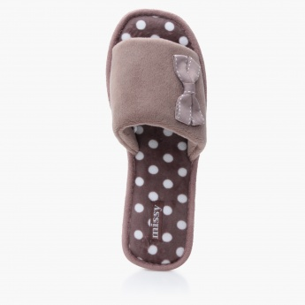 Missy Polka Dots Bedroom Slippers