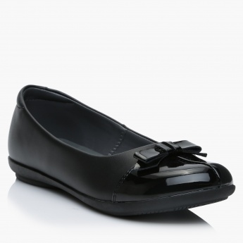 Barefeet Slip-On Shoes with Bow Detail
