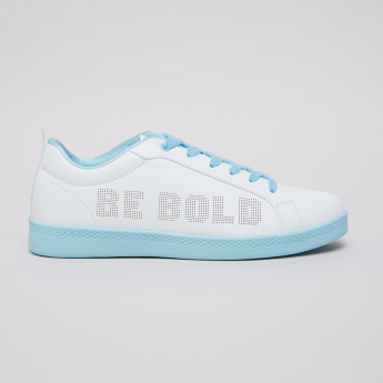 Text Printed Shoes