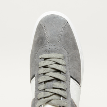 Lee Cooper Textured Lace-Up Sneakers