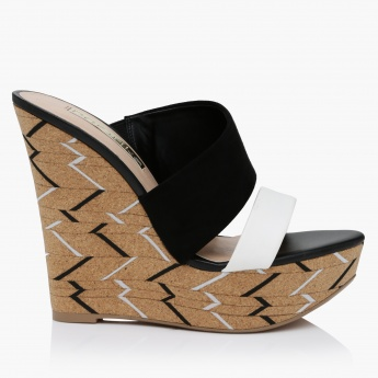 Paprika Wedge Sandals