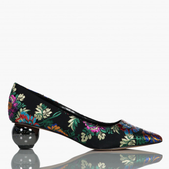 Celeste Embroidered Pumps