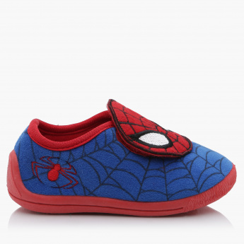 Spiderman Shoes with Hook and Loop Closure