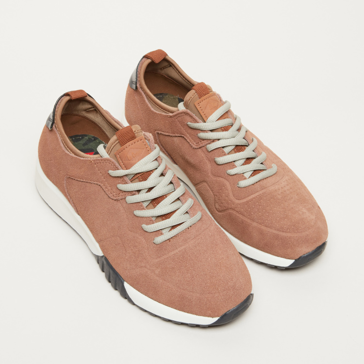 Lee Cooper Textured Lace-Up Hiking Shoes