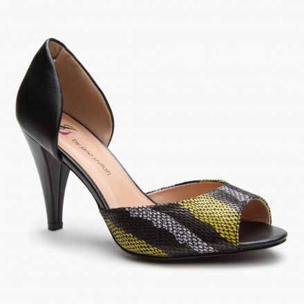 Jane Shilton Peep-Toe D' Orsay Shoes