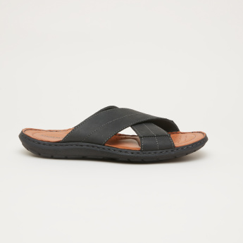 Cross Strap Arabic Sandals