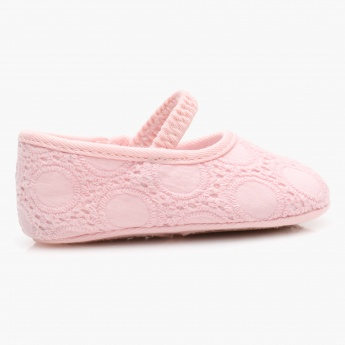 Juniors Embroidered Booties