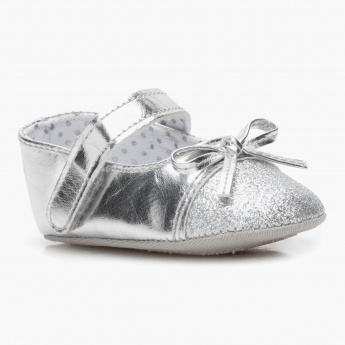 Juniors Metallic Booties