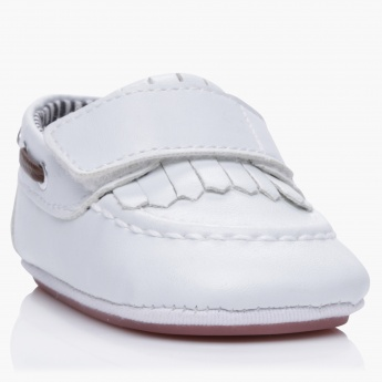 Juniors Hook and Loop Strap Comfort Shoes