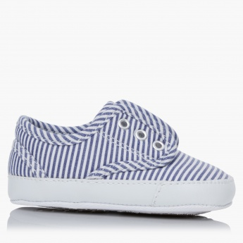 Juniors Striped Sneakers