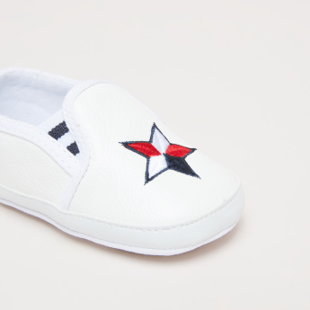 Star Embroidered Shoes