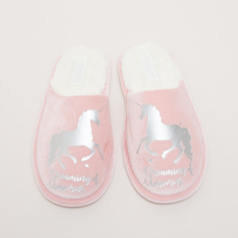 Unicorn Printed Indoor Slides