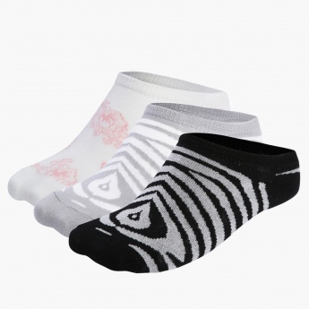 Elle No Show Socks - Set of 3