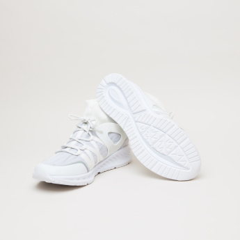 KangaROOS High Top Knitted Lace-Up Shoes