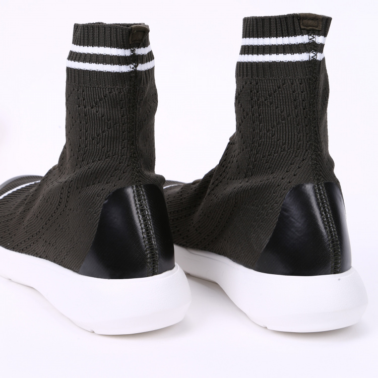 Kappa High-Tops  with Lace-Up Closure