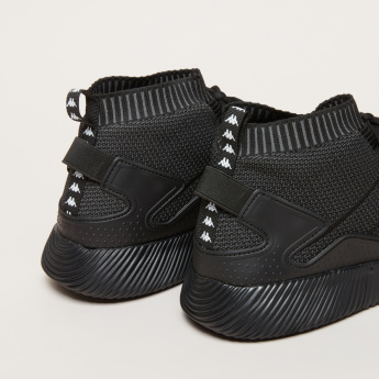 Kappa Textured High Top Shoes