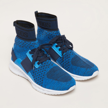 KangaROOS Textured High Top Shoes