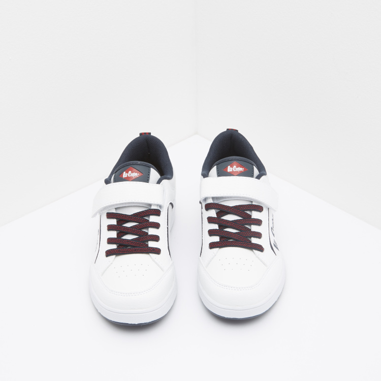 Lee Cooper Printed Lace-Up Sneakers