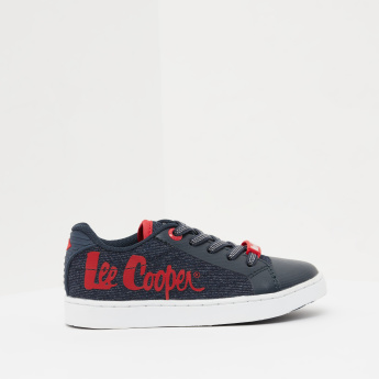 Lee Cooper Canvas Shoes with Lace-Up Closure