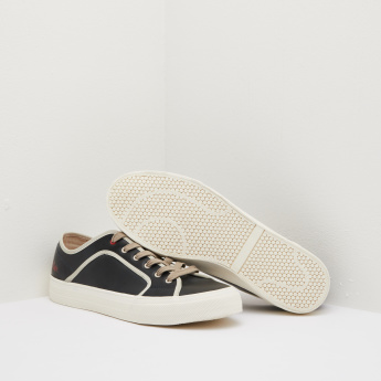 Lee Cooper Low Ankle Sneakers with Lace-Up Closure