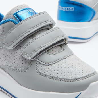 Girls' Running Shoes with Hook and Loop Closure