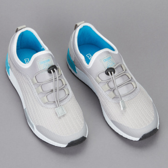 Kappa Boys' Textured Running Shoes with Drawstring