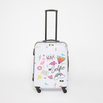 Mia Toro Printed Travelling Bag