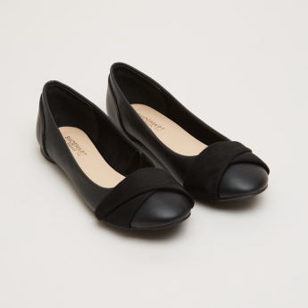 Ballerina Shoes with Vamp Band