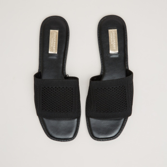 Knitted Slides